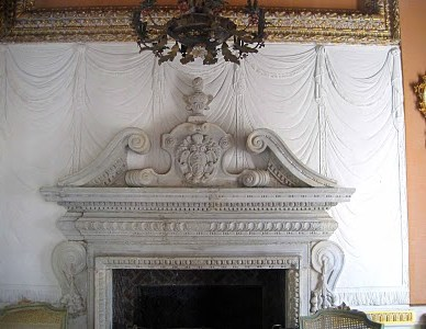 Over mantel
