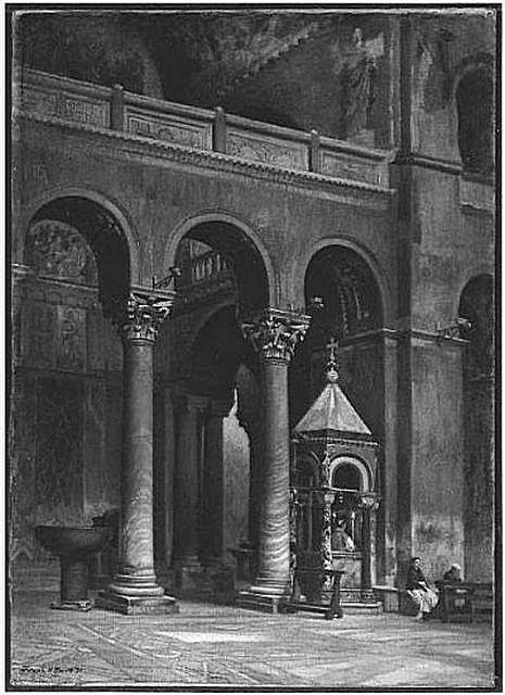 1871_Chapel_of_the_Crucifix_Saint_Marks_Venice_byFrankHillSmith_MFABoston