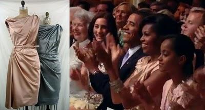 Bryon lars obama dress