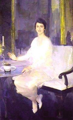 Cecilia+Beaux,+Ernesta,+1914,+olja+på+duk,+182+x+110+cm