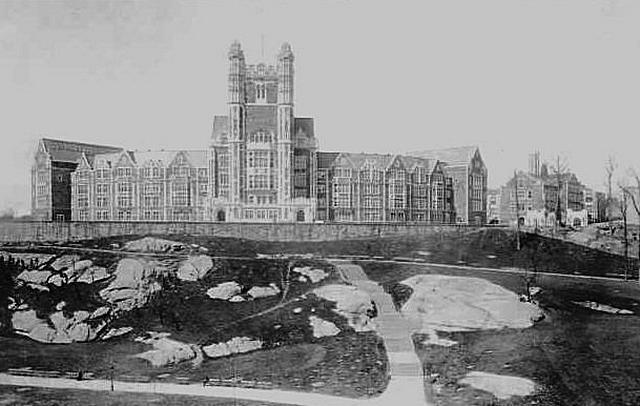 Shepard hall around 1915
