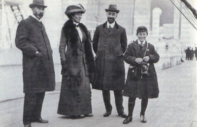Stanley J_ May, sister Mrs_ Lily Odell, brother Richard May, nephew Jack Dudley Odell