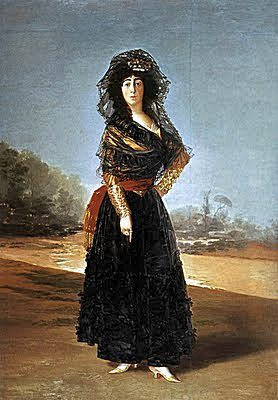 De goya_duchess of alba_Hispanic Society