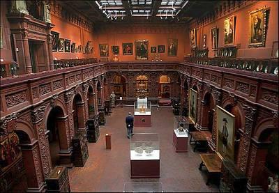 Hispanic Society interior