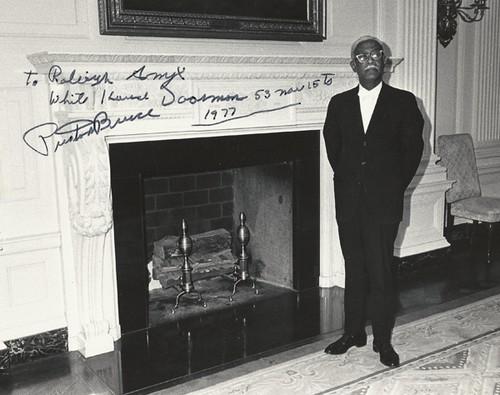 JFK BRUE AT MANTLE W.H. Preston Signed small-resized-600
