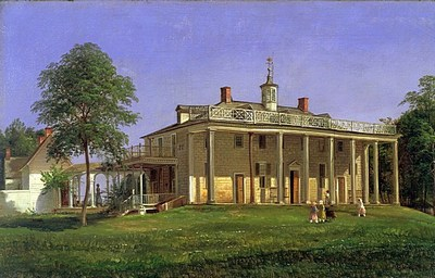Ferdinand Richardt - View of Mount Vernon 1858