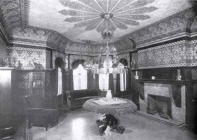 1934 Burns Lyman Smith House interior